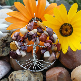 Mookaite Jasper Tree of Life