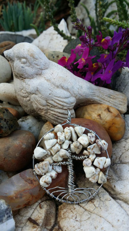 Howlite Tree of Life