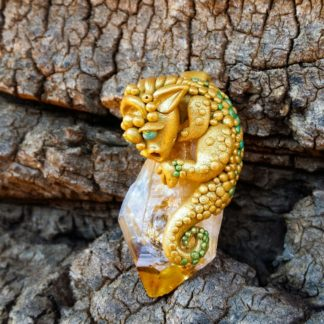 Golden Citrine Dragon