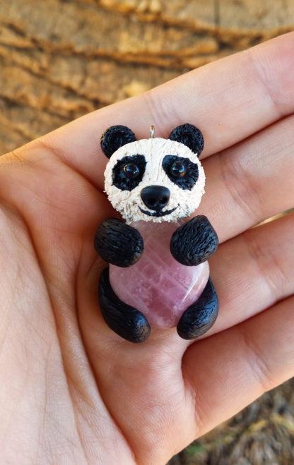 Rose Quartz Panda