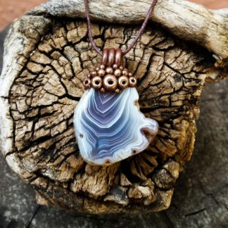 Small Natural Agate Pendant