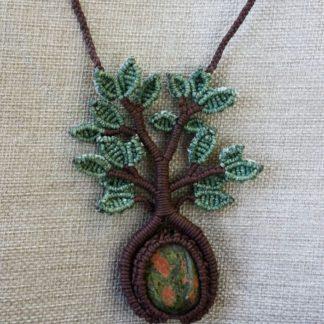 Woven Unakite Tree of Life