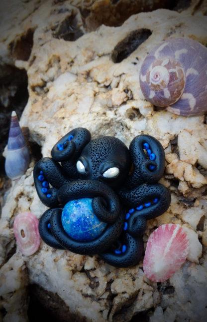 Lapis Lazuli Octopus