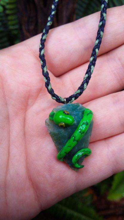 Green Quartz Tree Snake