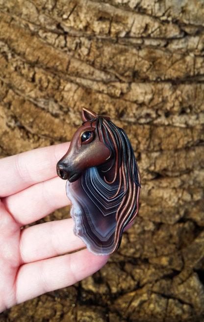 Botswana Agate Horse