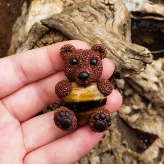 Tiger Eye Bear